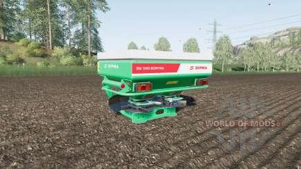 Sipma RN 1000 Boryna für Farming Simulator 2017