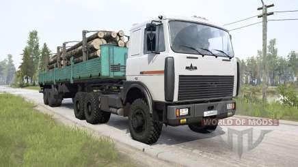 MAZ-64229 6x6 pour MudRunner