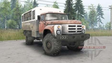 ZIL-133GÂ 4x4 pour Spin Tires