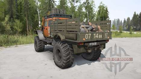 ZVM-39082 Siver 4x4 pour Spintires MudRunner