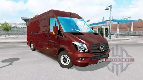 Mercedes-Benz Sprinter pour Euro Truck Simulator 2