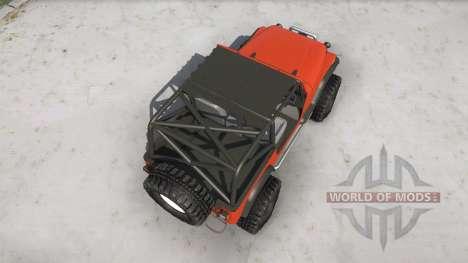 Jeep Wrangler pour Spintires MudRunner