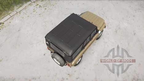 L'UAZ-3151 pour Spintires MudRunner