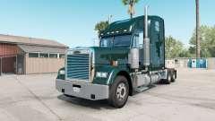 Freightliner Classic XL deep jungle green pour American Truck Simulator