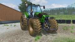 Deutz-Fahr 7250 TTV Agrotron dirt texture pour Farming Simulator 2013