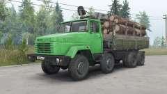 KrAZ-7133Н4 für Spin Tires