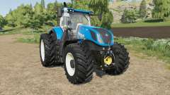 New Holland T7-series new tire configs pour Farming Simulator 2017