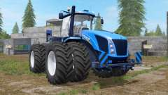 New Holland T9 multicolor with drilling tires für Farming Simulator 2017