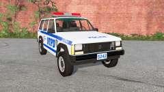Jeep Cherokee (XJ) Police pour BeamNG Drive