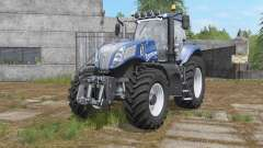 New Holland T8-series with additional light pour Farming Simulator 2017