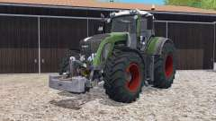 Fendt 933 Vario with weight für Farming Simulator 2015