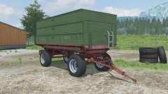 Krone Emsland 16 tonner pour Farming Simulator 2013