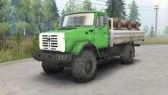 ZIL-4334 4x4 für Spin Tires