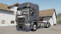 Scania R730 Hooklift selectable wheels für Farming Simulator 2017