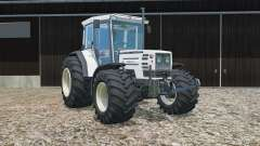 Hurlimann H-488 Turbo tires were widened für Farming Simulator 2015