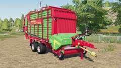 Strautmann Zelon CFS 2501 DO with more volume pour Farming Simulator 2017