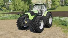 Deutz-Fahr Serie 7 TTV Agrotron with new tire pour Farming Simulator 2017