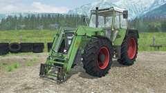 Fendt Favorit 611 LSA Turbomatik E front loader pour Farming Simulator 2013