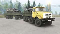 ZIL-133ГМ 8x8 pour Spin Tires
