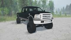 Ford F-350 2006 pour MudRunner