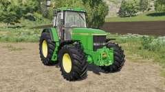 John Deere 7010 various wheel configurations für Farming Simulator 2017