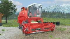 Bizon Rekord Z058 coral red für Farming Simulator 2013