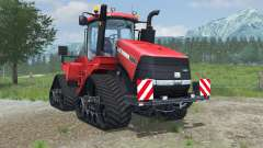 Case IH Steiger 600 Quadtrac light brilliant red pour Farming Simulator 2013