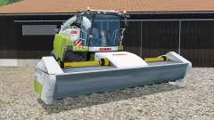 Claas Jaguar 980 with headers pour Farming Simulator 2015