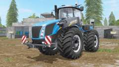 New Holland T9-series with drilling tires für Farming Simulator 2017