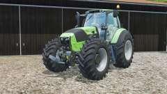 Deutz-Fahr 7250 TTV grown-end loader console für Farming Simulator 2015