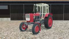UMZ-6КЛ en rouge pour Farming Simulator 2015