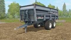 Maupu BBM slate gray für Farming Simulator 2017