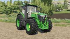 John Deere 7R-series tires little bigger für Farming Simulator 2017