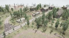 Le village et l'Oural Rebe 2 pour MudRunner