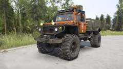 ZVM-39082 Siver 4x4 pour MudRunner