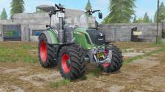 Fendt 300 Vario sea green pour Farming Simulator 2017