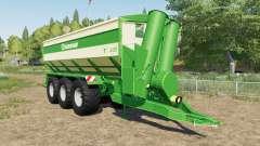 Krone TX 430 with tow hitch für Farming Simulator 2017
