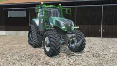 New Holland T8.435 fun green pour Farming Simulator 2015