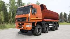 MAZ-6516В9 couleur rouge pour MudRunner