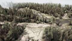 La russie. De l'oural. 110 kilomètre pour MudRunner