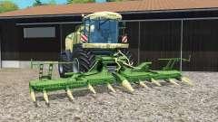 Krone BiG X 580 grass pour Farming Simulator 2015