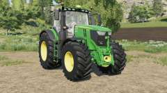 John Deere 6R-series new controls panel für Farming Simulator 2017