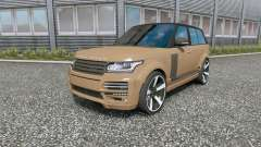 Land Rover Range Rover Vogue (L405) Startech pour Euro Truck Simulator 2