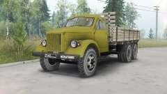 GAZ-51 länglich triaxial für Spin Tires