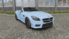 Mercedes-Benz SLK 55 AMG (R172) 2012 pour Euro Truck Simulator 2