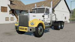 Kenworth W900A Day Cab 1974 oversize load pour Farming Simulator 2017