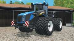 New Holland T9.565 with dual float wheels pour Farming Simulator 2015