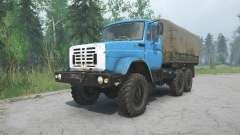 ZIL-4334 blau Farbe für MudRunner
