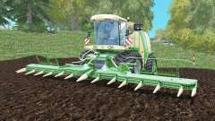 Krone BiG X 1100 capacity 100000 liters für Farming Simulator 2015