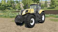 New Holland T8-series adjusted transmission pour Farming Simulator 2017